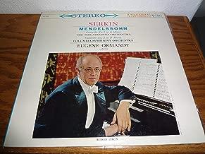 Mendelssohn: Piano Concerto No.1 in G Minor and Concerto No.2 in D Minor