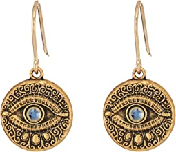 Evil Eye Hook Earrings