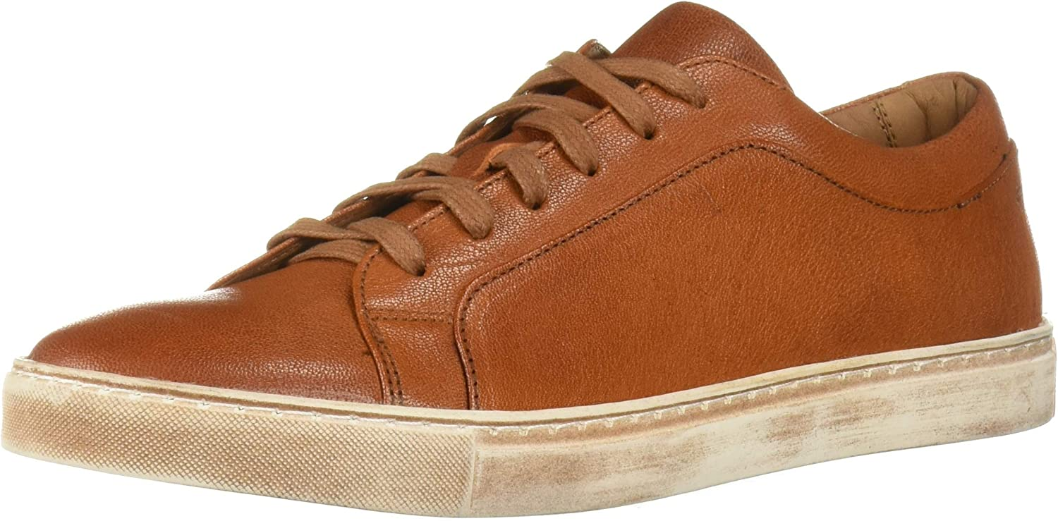 Brothers United Men's Leather Luxury 捧呈 Lace Sole Sneake Up 送料無料(一部地域を除く) Brushed