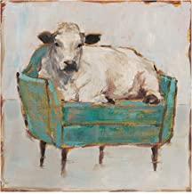 Trademark Fine Art WAG15696-C2424GG Moo-ving in I by Ethan Harper, 24x24,