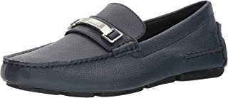 Calvin Klein Men`s Mikos Tumbled Leather Loafer