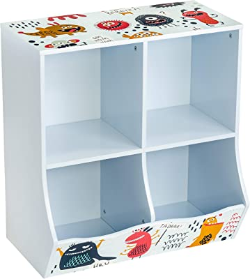 Honey-Can-Do Kids 4 Cube Storage Caddy