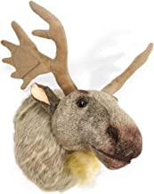 VIAHART Muscovy The Moose   24 Inch (with Antlers) Stuffed Animal Plush Head Trophy Wall Mount Bust   Shipping from Texas   by Tiger Tale Toys