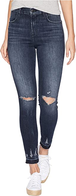 Alana High-Rise Crop Skinny in Flurry