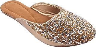 Shree Balaji Footwear EVA Slip-On Fashion Sandal For Women and Girls (SBFG0072-Silver-9)