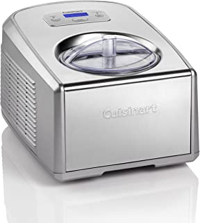 Cuisinart Ice Cream and Gelato Maker | Makes Ice Cream, Gelato, Sorbet, Frozen Yoghurt | Stainless Steel | ICE100BCU