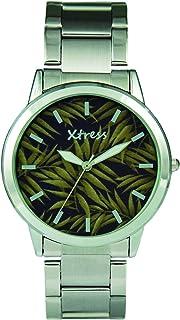 XTRESS Homme Analogique Quartz Montre avec Bracelet en Acier Inoxydable XAA1032-53