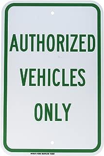 Brady 129565 Traffic Control Sign, Legend