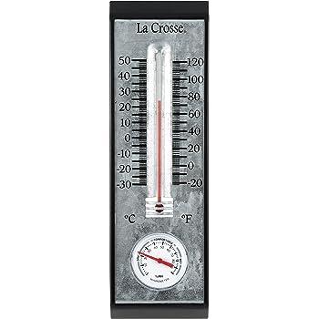 Small Esschert Design Old Zinc Thermometer