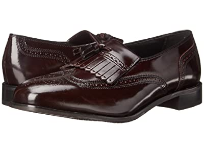 Florsheim Lexington Wingtip Tassel Slip-On (Wine Legacy) Men