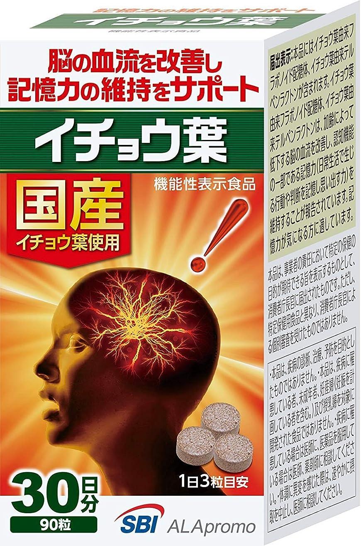 ストリップメール湿度【3個セット】SBI イチョウ葉 90粒(機能性表示食品)