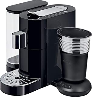 K-Fee Twins II & Latte Verismo Pod Compatible Single Serve Coffee/Espresso Machine with Lattaero Milk Frother
