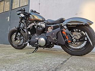 Suchergebnis Auf Für Harley Davidson Sportster 1200 Xl Custom Leder Satteltaschen Koffer Gepä Auto Motorrad