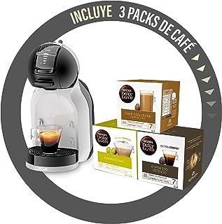 De'Longhi Mini Me Machine à café Dolce Gusto pour café expresso avec 3 packs de café EDG155.BG 0,8 l Noir/gris