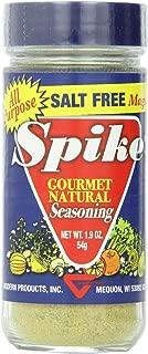 Spike Gourmet Natural Seasoning, Salt Free, 1.9 Ounce (Pack of 6)