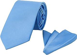 TD الملابس العلاقات للرجال - مجموعة التعادل والجيب مربع مع صندوق هدية، العلاقات الرجال الكلاسيكية ، اكسسوارات للرجال