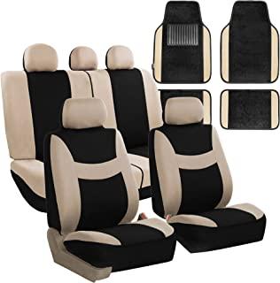 Set of 11 SUMEX Fundbas Car with Texas Universal Car Seat Covers Grey//Black