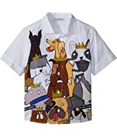 Dolce & Gabbana Kids - Short Sleeve Shirt (Toddler/Little Kids)