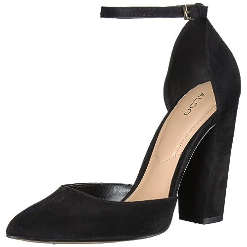 a39986a0ccc ALDO Black Heels  Amazon.com