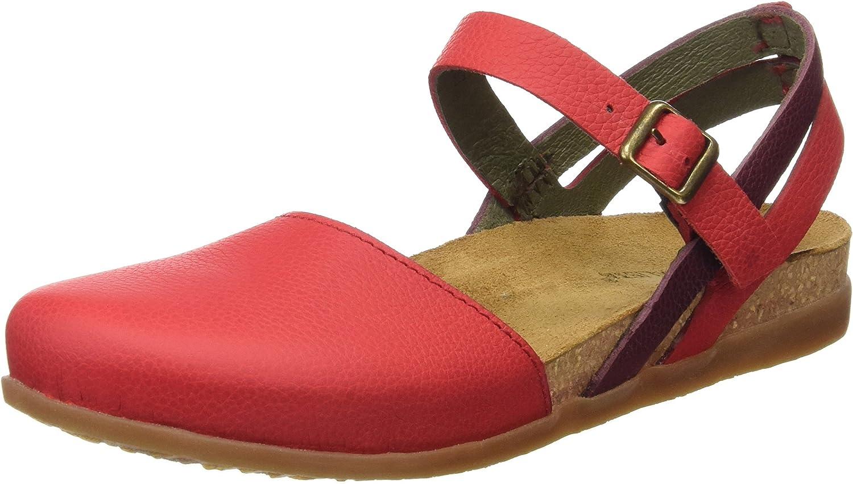 El Naturalista Womens Nf41 Soft Grain Gpinklla Mixed Zumaia Heeled Sandal