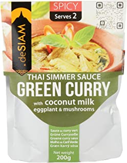 DE SIAM Green Curry Sauce, 200 gm