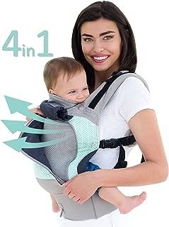 LÍLLÉbaby 4 in 1 Essentials All Seasons Baby Carrier, Boardwalk