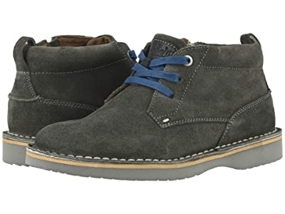 Florsheim Kids Navigator Chukka Jr. (Toddler/Little Kid/Big Kid) (Gray Suede/Gray Sole) Boys Shoes