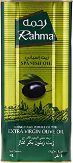 Rahma, Refined Olive Pomace Oil with Extra Virgin Olive Oil, 4L
