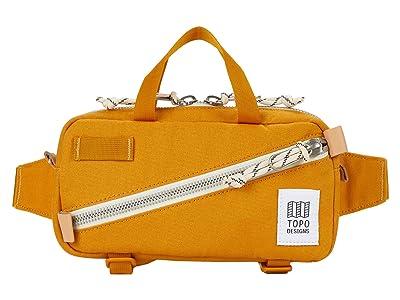 Topo Designs Mini Quick Pack (Yellow Canvas) Cross Body Handbags