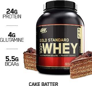 Optimum Nutrition Gold Standard 100% Whey Protein Powder, Cake Batter, 5 Pound