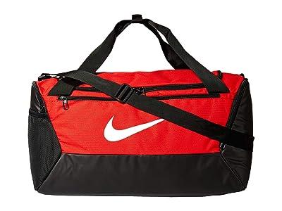 Nike Brasilia Small Duffel 9.0 (University Red/Black/White) Bags