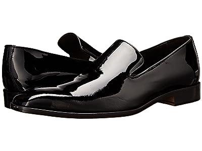 Massimo Matteo Formal Slip-On (Black) Men