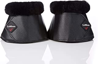 WrapRound Lambskin Over Reach Boots - Black/Black