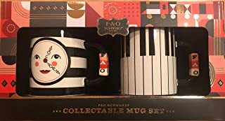 FAO Schwarz Collectible Mug Set