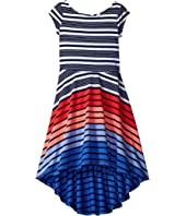 Tommy Hilfiger Kids - High-Low Dress (Little Kids)
