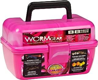 South Bend Wormgear Tackle Box-88 Piece (Pink)