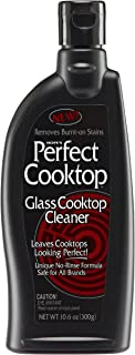 Hope's Perfect Cooktop Cleaner, 10.6-Ounce, Glass Cooktop Cleaning Spray, Removes Stains, No-Rinse Formula, Fast-acting