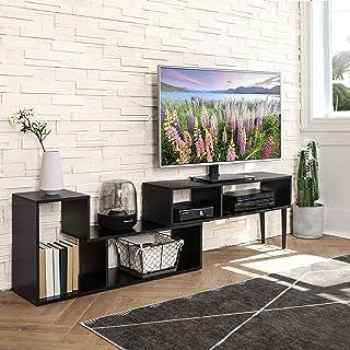 FITUEYES Versátil Mueble para TV Centro de Entretenimiento Moderno para TV de Pantalla PlanaCaja de Cable Consolas de Ju...
