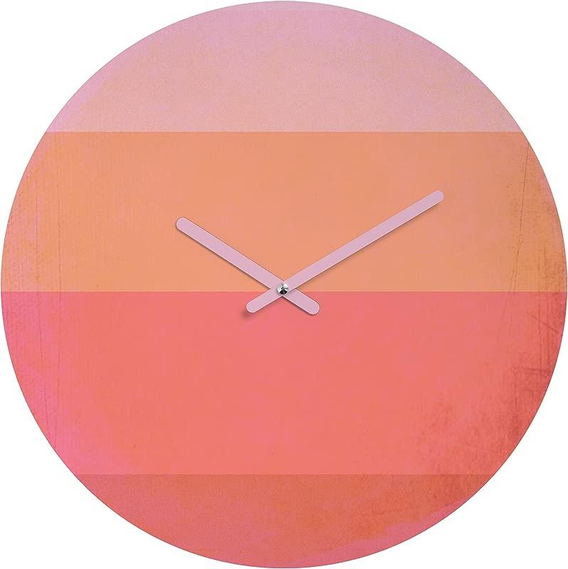 Deny Designs Hello Twiggs Love In Color Round Clock