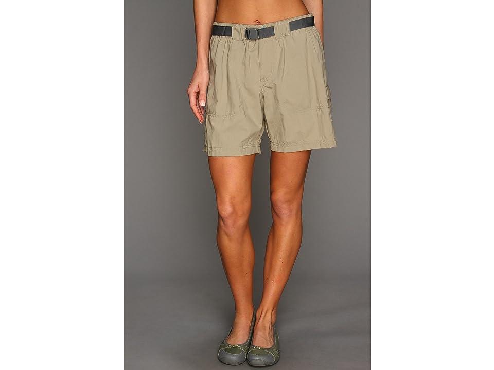 Columbia Sandy Rivertm Cargo Short (Tusk/Metal) Women