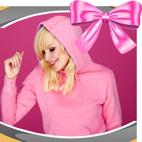 Colagem cor-de-rosa da foto