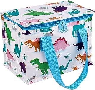 Sass & Belle Dinosaur Lunch Bag, Multi-Colour, Single