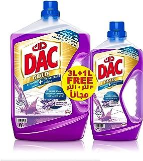 Dac Disinfectant Gold Floor Cleaner - Lavender, 3L + 1L