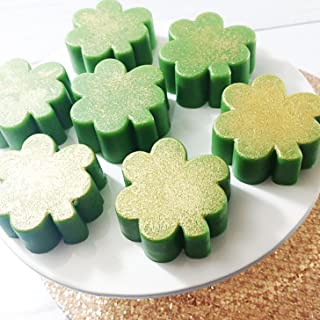 Green Clover Shamrock St Patricks Day Natural Glycerin Soap