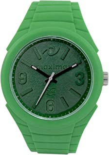 Maxima Fiber Analog Green Dial Men's Watch - (36280PPGN)