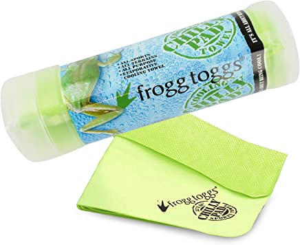 Frogg Toggs 647484919239 Chilly Pad Cooling Towel, 32.5 Length x 12.25 Width, Lime Green by Frogg Toggs