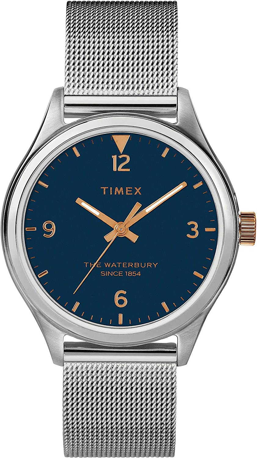 Safety and trust Waterbury Woman OFFicial mail order Watch - only time Timex