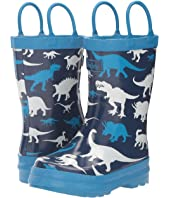 Hatley Kids - Silhouette Dinos Rain Boots (Toddler/Little Kid)