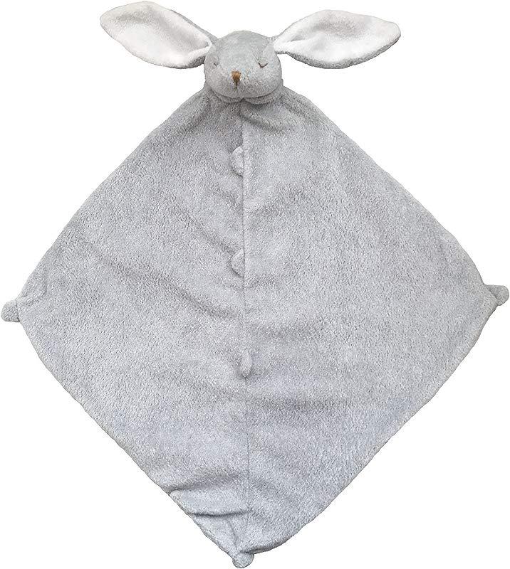 Angel Dear Grey Bunny Baby Blankie