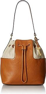 Fossil Women's Cooper Bucket Bag Leather Cross Body